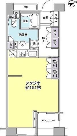 ネクステージレジデンス中央湊 / 1階 部屋画像1