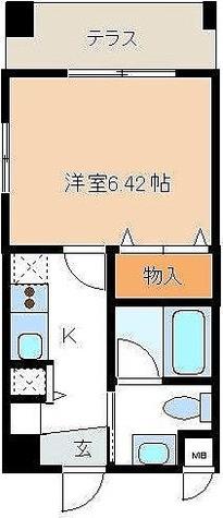 レジディア新川 / 1K(24.79㎡) 部屋画像1