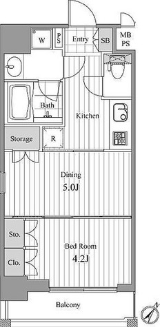 NCRe新宿中央公園(旧デュオステージ新宿中央公園) / 2階 部屋画像1