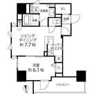プレール・ドゥーク浅草橋 / 1LDK(41.33㎡) 部屋画像1