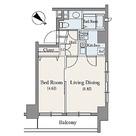 東池袋デュープレックスR's(リズ) / 1DK(29.32㎡) 部屋画像1