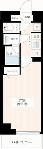 MAXIV平和台 / Aタイプ(25.81㎡) 部屋画像1