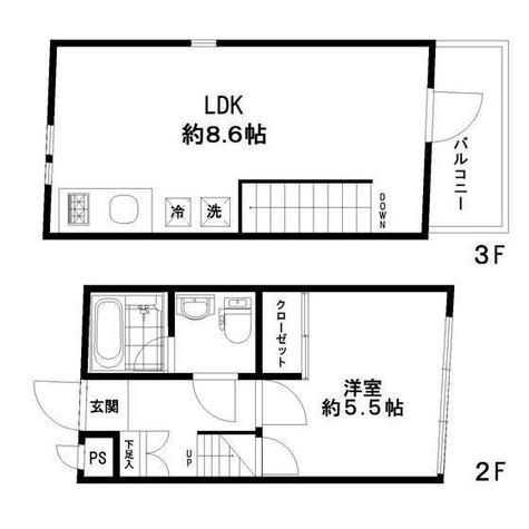 SILVERADO Hiroo / 2階 部屋画像1