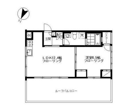 CLOVER HOUSE 壱番館(クローバーハウス壱番館) / 1階 部屋画像1