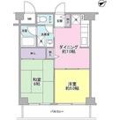リッシェル生田 / 2DK(39.27㎡) 部屋画像1