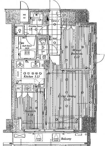 コンパートメント東京中央 / 3階 部屋画像1