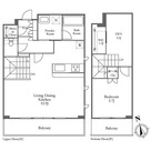 ガーデン富ヶ谷 / 1SLDK(64.43㎡) 部屋画像1