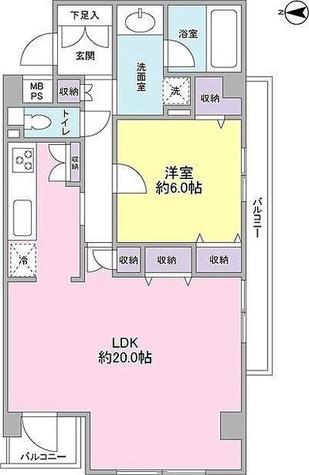 ルネサンス成城レジデンス / 1階 部屋画像1
