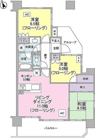 ナイスシティアリーナ武蔵小杉ブライトコート / 2階 部屋画像1