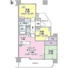 ナイスシティアリーナ武蔵小杉ブライトコート / 3LDK(65.77㎡) 部屋画像1