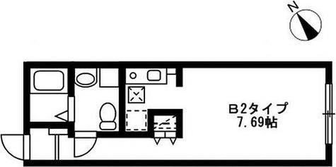 レジディア駒沢大学 / 1階 部屋画像1