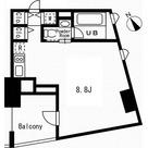 レジディア代々木の杜 / 1R(22.32㎡) 部屋画像1