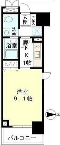 マイプレジール広尾 / 2階 部屋画像1