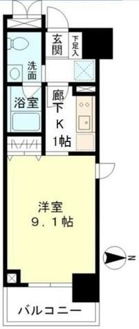 マイプレジール広尾 / 9 Floor 部屋画像1