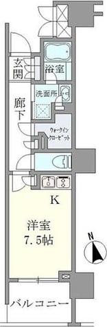Brillia品川戸越耀邸 / 1階 部屋画像1