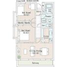 ラナイグレース国立 / 2LDK(62.85㎡) 部屋画像1