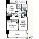 Premier市谷薬王寺 / 1SDK (40.11㎡) 部屋画像1