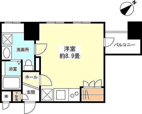 スペーシア新宿 / 1R(26.04㎡) 部屋画像1