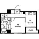 ラクラス田原町(旧カースク田原町駅前) / 1DK(33.62㎡) 部屋画像1