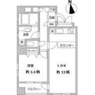 ラクラス田原町(旧カースク田原町駅前) / 1LDK(44.34㎡) 部屋画像1