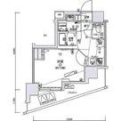 リヴシティ王子神谷 / 1K(25.45㎡) 部屋画像1