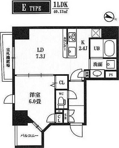 レクシード神田 / 1LDK (40.13㎡) 部屋画像1