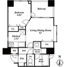THEパームス代々木三丁目 / 1LDK(34.24㎡) 部屋画像1