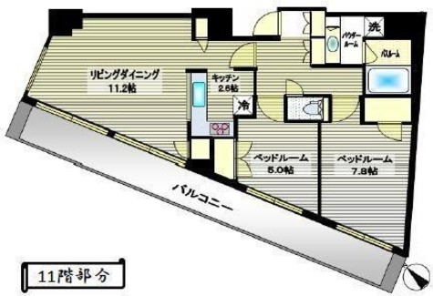 クオリア恵比寿ウエスト / 1101 部屋画像1