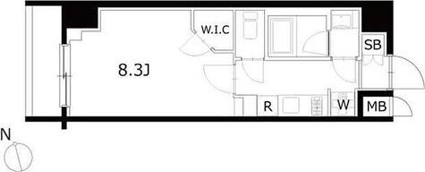 KDXレジデンス豊洲 / 1K(28.19㎡) 部屋画像1