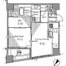 パークアクシス日本橋浜町 / 1LDK(50.52㎡) 部屋画像1