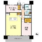 ロイヤルパークスERささしま / E-1SLDK(80.03㎡) 部屋画像1
