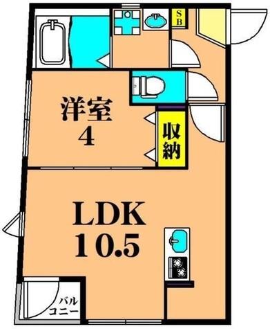 AQUA HOUSE / 2階 部屋画像1