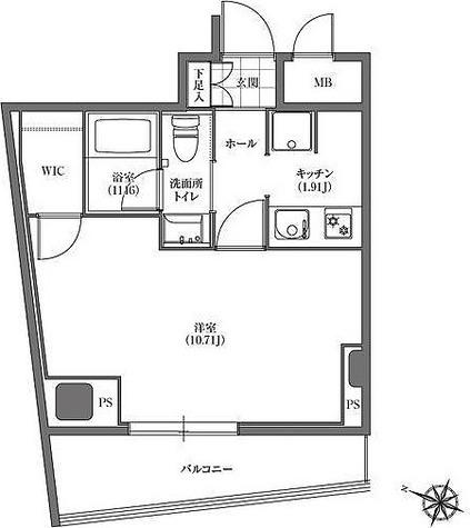 ヒューリック板橋 / 4階 部屋画像1