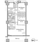 ザ・レジデンス本牧横浜ベイサイド / E-2タイプ(76.34㎡) 部屋画像1