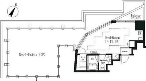 エルスタンザ白金 / 1R(28.55㎡) 部屋画像1