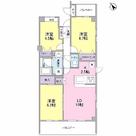 根岸旭台フーガ / 3LDK(69.68㎡) 部屋画像1