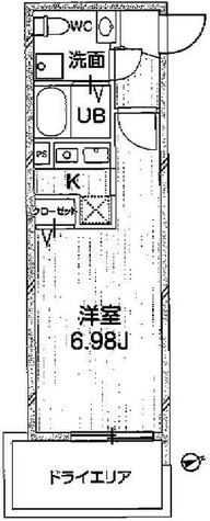 ゼスティ神楽坂Ⅱ(ZESTY神楽坂Ⅱ) / 1K(23.06㎡) 部屋画像1