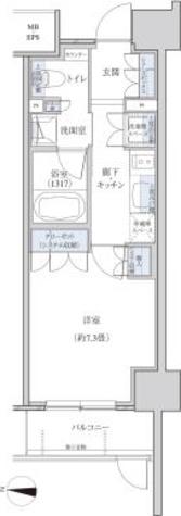 パークアクシス名駅南グランデ / 1K(27.49㎡) 部屋画像1