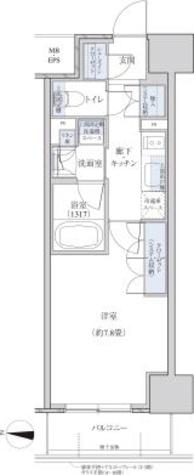 パークアクシス名駅南グランデ / 1K(29.17㎡) 部屋画像1