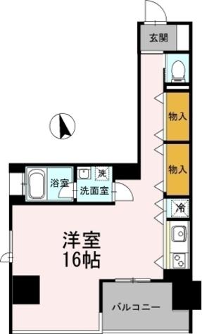 カスタリア伏見 / ワンルーム(48.18㎡) 部屋画像1