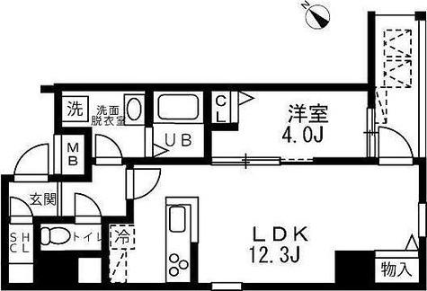 アリカ向島 / 2階 部屋画像1