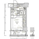 Log駒込 / 1K(25.93㎡) 部屋画像1