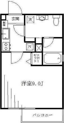 ルネサンスコート鷺ノ宮 / 1階 部屋画像1