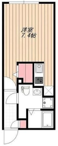 BGグランド若林 / 1階 部屋画像1