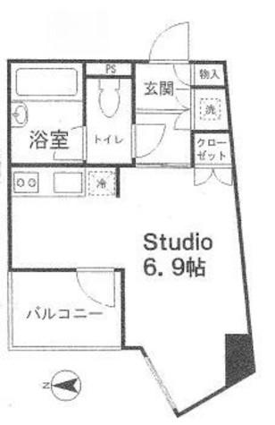 コンフォリア・リヴ小石川 / 4階 部屋画像1