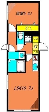 ロータス都立大学 / 203 部屋画像1