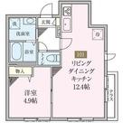 アーバンコート初台Ⅱ / 101 部屋画像1