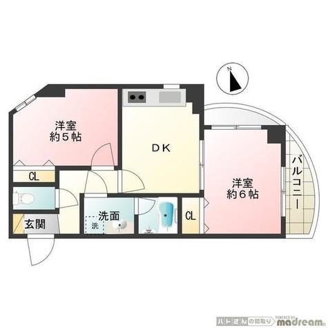 ブランシェ南大井 / 3階 部屋画像1