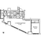 パークアクシス六本木檜町公園 / 1LDK(52.86㎡) 部屋画像1