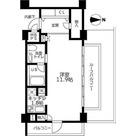 ライオンズフォーシア中野坂上 / ワンルーム(37.87㎡) 部屋画像1